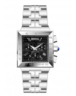 Jovial Men's Chronograph Watch Stainless steel Band