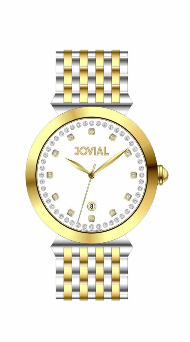 Jovial Men's Watch Classic Stainless steel  Band